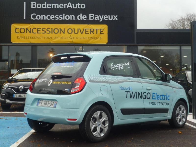 Renault Twingo Electric Zen R80 Achat Intégral Bleu occasion à BAYEUX - photo n°3