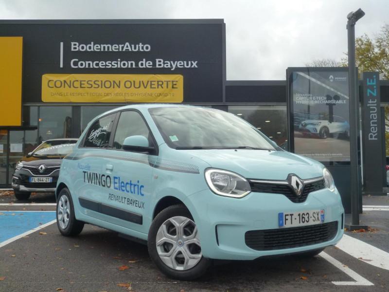 Renault Twingo Electric Zen R80 Achat Intégral Bleu occasion à BAYEUX - photo n°2