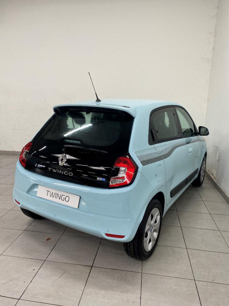 Renault Twingo Electric Zen R80 Achat Intégral Bleu occasion à QUIMPER - photo n°2