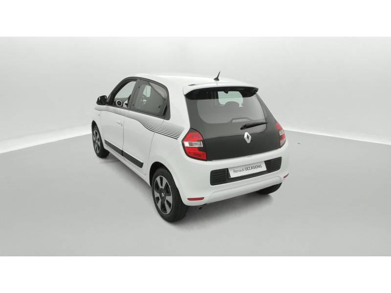 Renault Twingo III 0.9 TCe 90 Energy Limited Blanc occasion à SAINT-BRIEUC - photo n°4