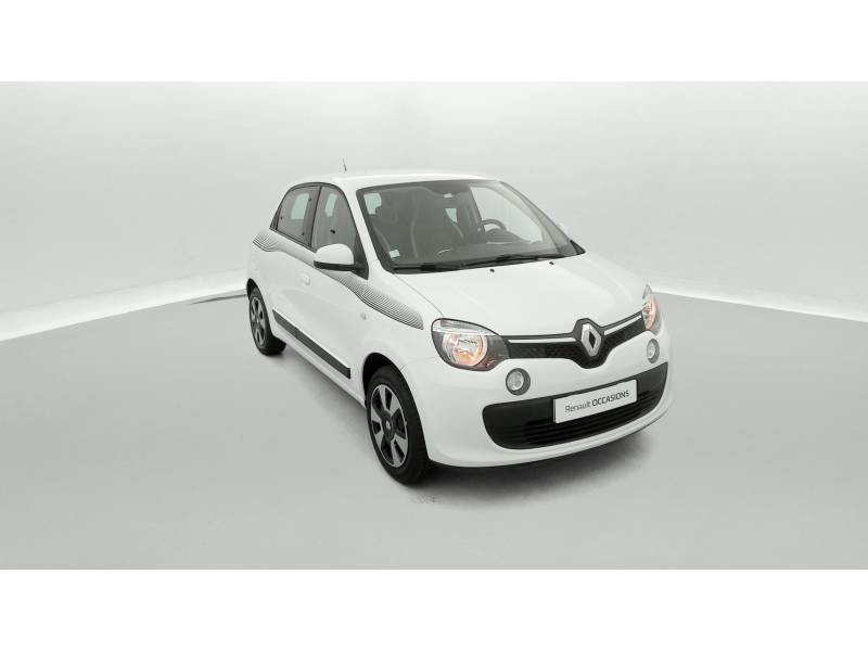 Renault Twingo III 0.9 TCe 90 Energy Limited Blanc occasion à SAINT-BRIEUC - photo n°2