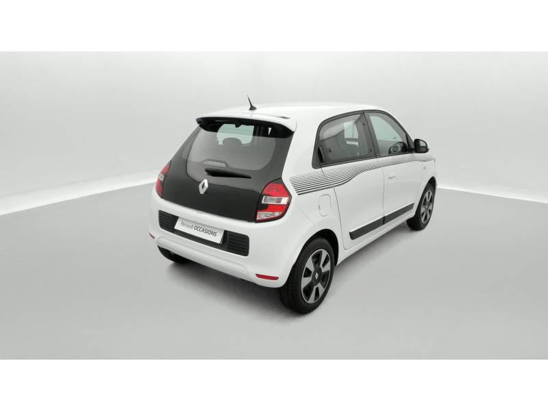 Renault Twingo III 0.9 TCe 90 Energy Limited Blanc occasion à SAINT-BRIEUC - photo n°3