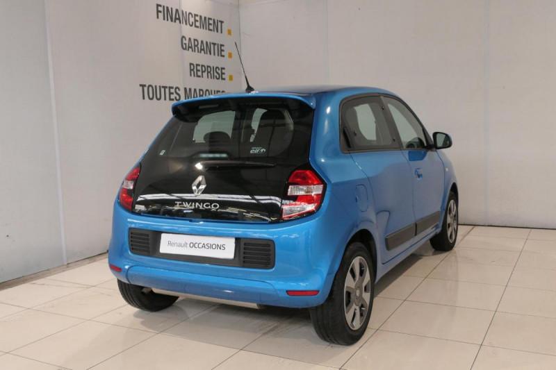 Renault Twingo III 0.9 TCe 90 Energy Zen Bleu occasion à LANNION - photo n°3