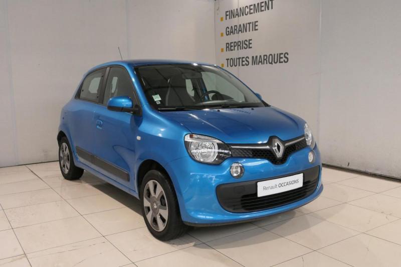 Renault Twingo III 0.9 TCe 90 Energy Zen Bleu occasion à LANNION - photo n°2