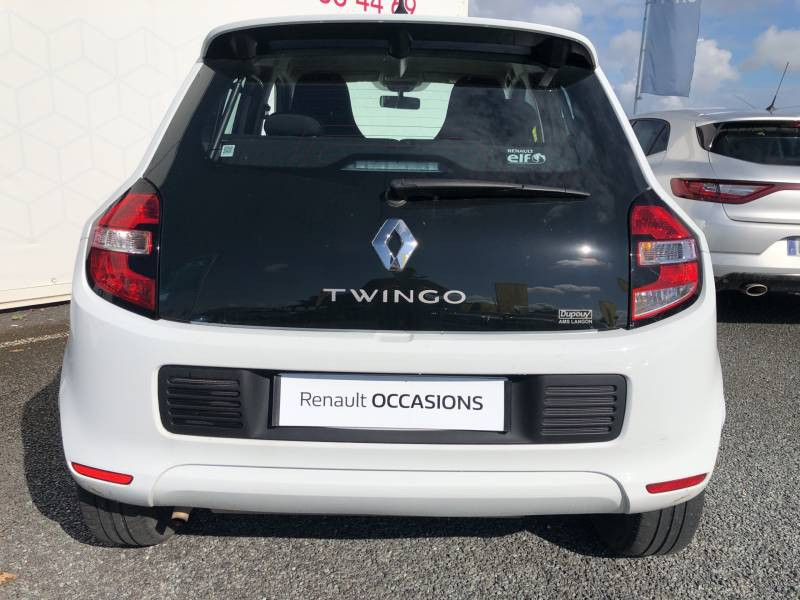 Renault Twingo III 1.0 SCe 70 BC Limited 2017 Blanc occasion à Langon - photo n°4