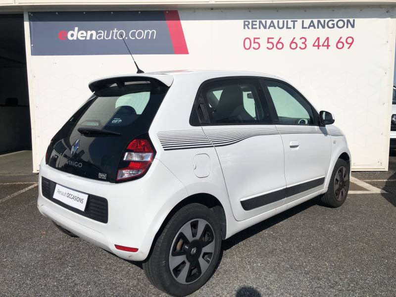 Renault Twingo III 1.0 SCe 70 BC Limited 2017 Blanc occasion à Langon - photo n°5