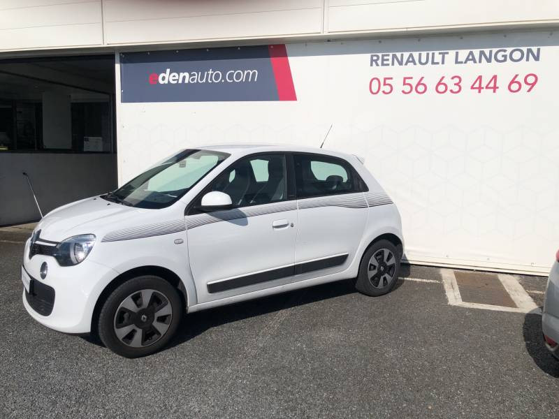 Renault Twingo III 1.0 SCe 70 BC Limited 2017 Blanc occasion à Langon - photo n°3