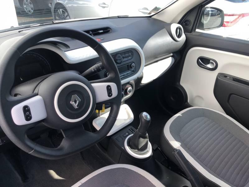 Renault Twingo III 1.0 SCe 70 BC Limited 2017 Blanc occasion à Langon - photo n°8