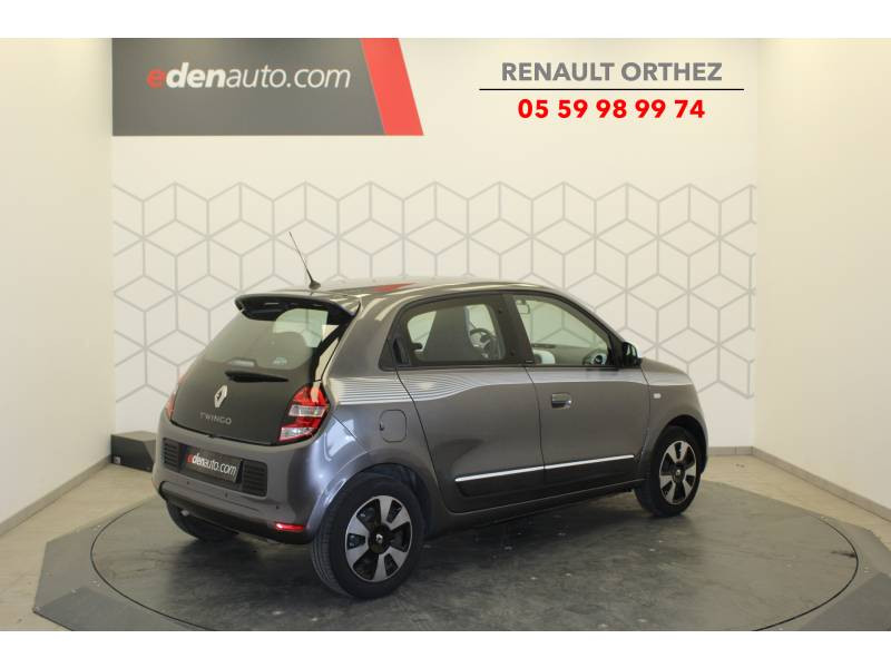 Renault Twingo III 1.0 SCe 70 BC Limited Gris occasion à Orthez - photo n°3