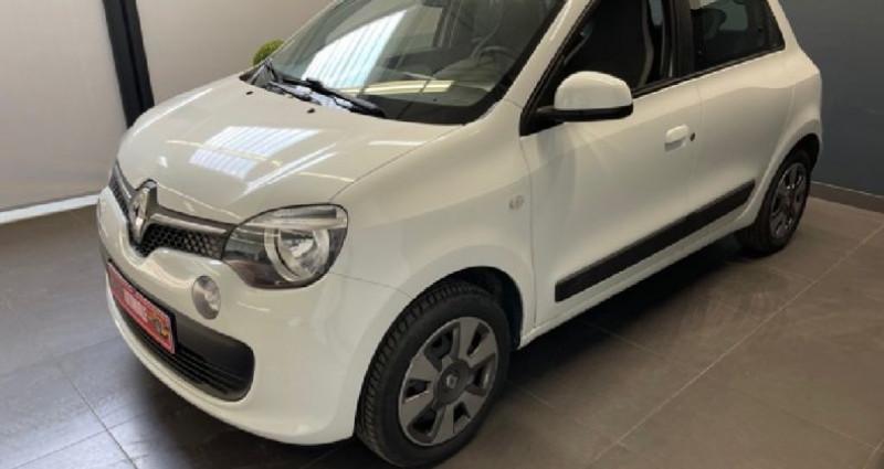 Renault Twingo III 1.0 SCe 70 CV Stop et Start Zen Blanc occasion à COURNON D'AUVERGNE - photo n°2