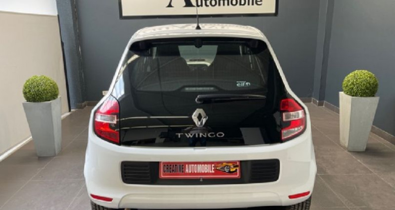 Renault Twingo III 1.0 SCe 70 CV Stop et Start Zen Blanc occasion à COURNON D'AUVERGNE - photo n°4