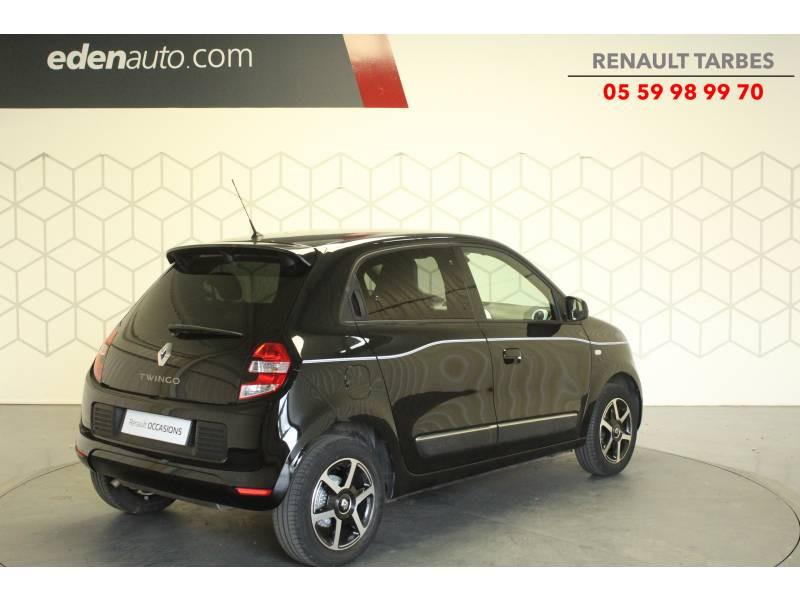 Renault Twingo III 1.0 SCe 70 E6C Intens Noir occasion à TARBES - photo n°5