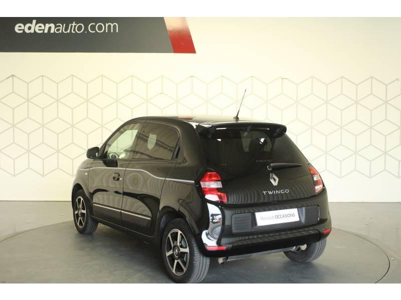 Renault Twingo III 1.0 SCe 70 E6C Intens Noir occasion à TARBES - photo n°9