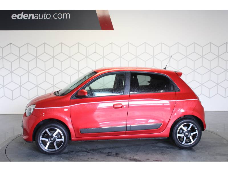Renault Twingo III 1.0 SCe 70 E6C Intens Rouge occasion à TARBES - photo n°3