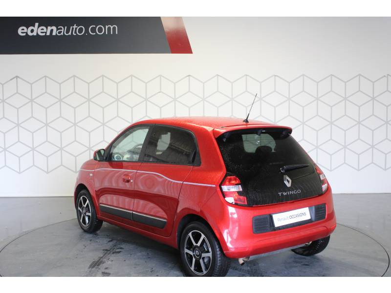 Renault Twingo III 1.0 SCe 70 E6C Intens Rouge occasion à TARBES - photo n°10