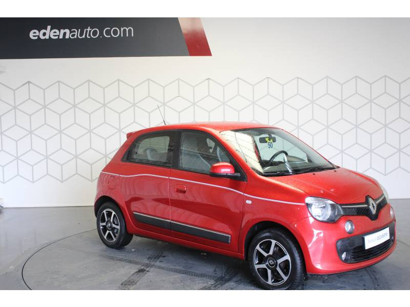 Renault Twingo III 1.0 SCe 70 E6C Intens Rouge occasion à TARBES - photo n°11