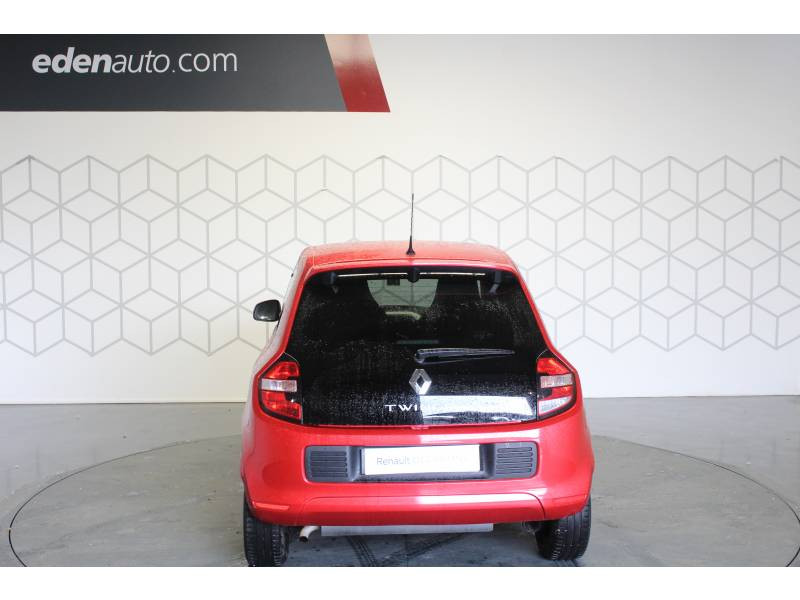 Renault Twingo III 1.0 SCe 70 E6C Intens Rouge occasion à TARBES - photo n°4
