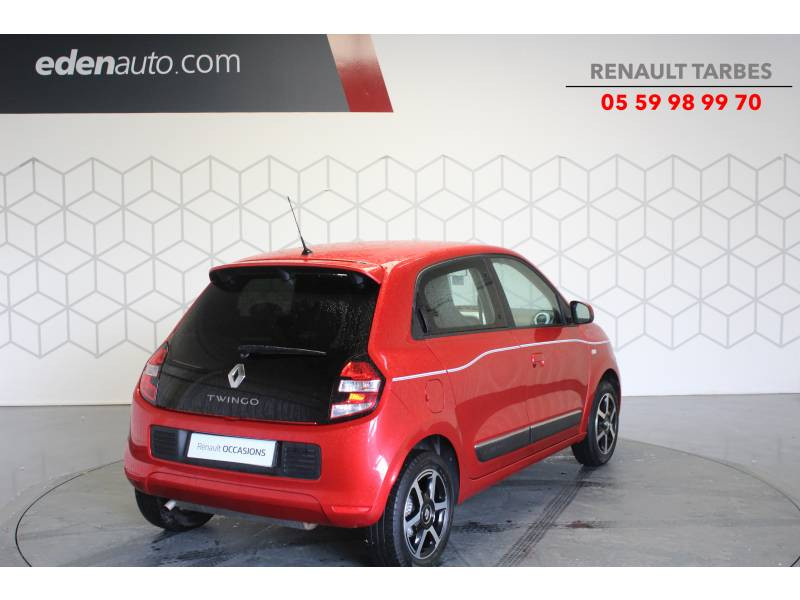 Renault Twingo III 1.0 SCe 70 E6C Intens Rouge occasion à TARBES - photo n°5