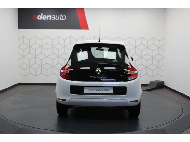 Renault Twingo III 1.0 SCe 70 E6C Life Blanc occasion à DAX - photo n°10