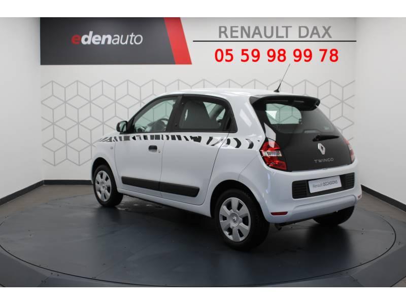 Renault Twingo III 1.0 SCe 70 E6C Life Blanc occasion à DAX - photo n°2