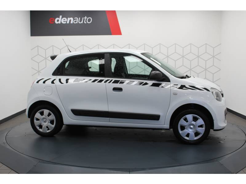 Renault Twingo III 1.0 SCe 70 E6C Life Blanc occasion à DAX - photo n°7