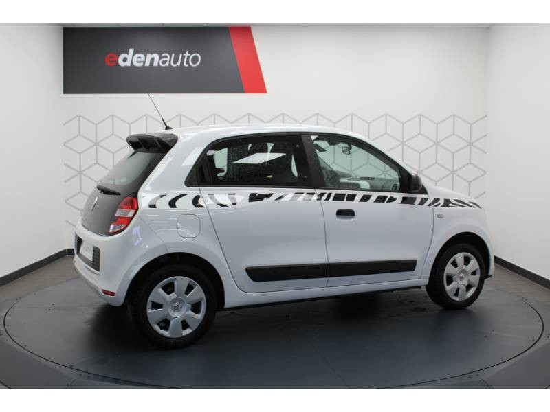 Renault Twingo III 1.0 SCe 70 E6C Life Blanc occasion à DAX - photo n°8