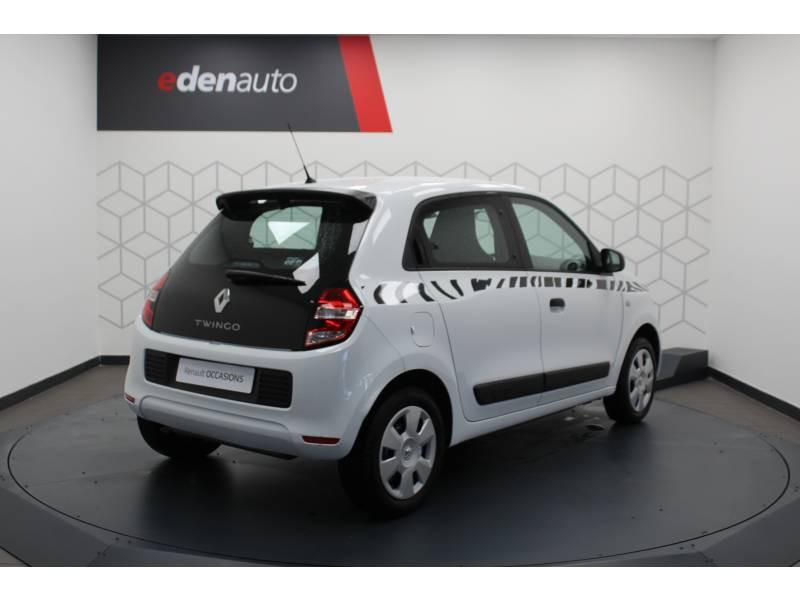 Renault Twingo III 1.0 SCe 70 E6C Life Blanc occasion à DAX - photo n°9