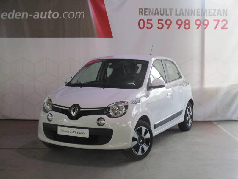 Renault Twingo III 1.0 SCe 70 E6C Limited Blanc occasion à Lannemezan