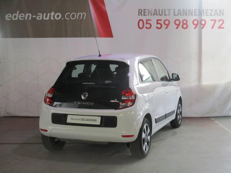 Renault Twingo III 1.0 SCe 70 E6C Limited Blanc occasion à Lannemezan - photo n°2