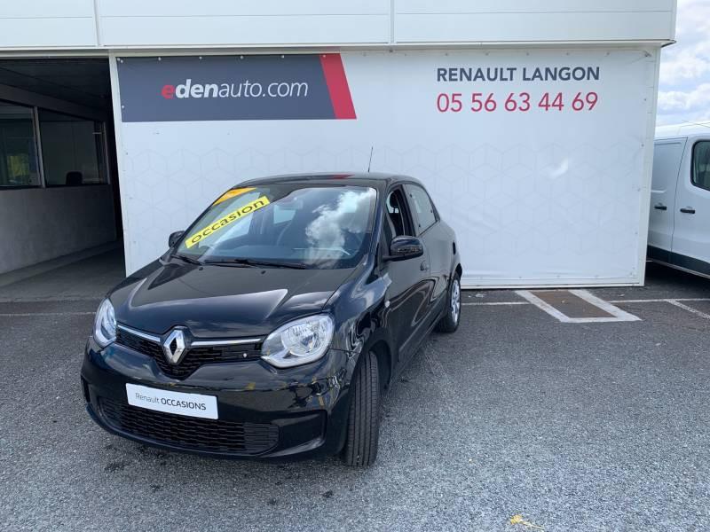 Renault Twingo III SCe 75 - 20 Zen Noir occasion à Langon - photo n°2