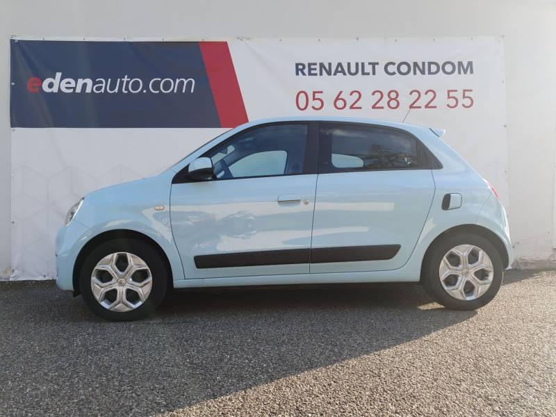 Renault Twingo III SCe 75 - 20 Zen Bleu occasion à Condom - photo n°2