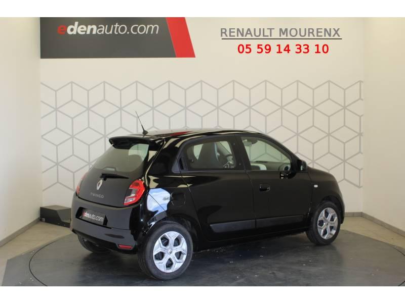 Renault Twingo III SCe 75 - 20 Zen Noir occasion à MOURENX - photo n°3