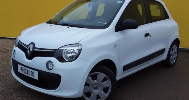 Renault Twingo III SOCIETE 1.0 SCe 70 E6 Life Blanc occasion à Fontenay-le-vicomte