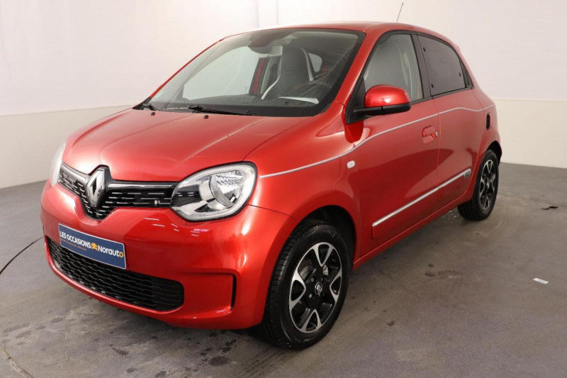 Renault Twingo III TCe 95 EDC Intens Rouge occasion à Toulouse