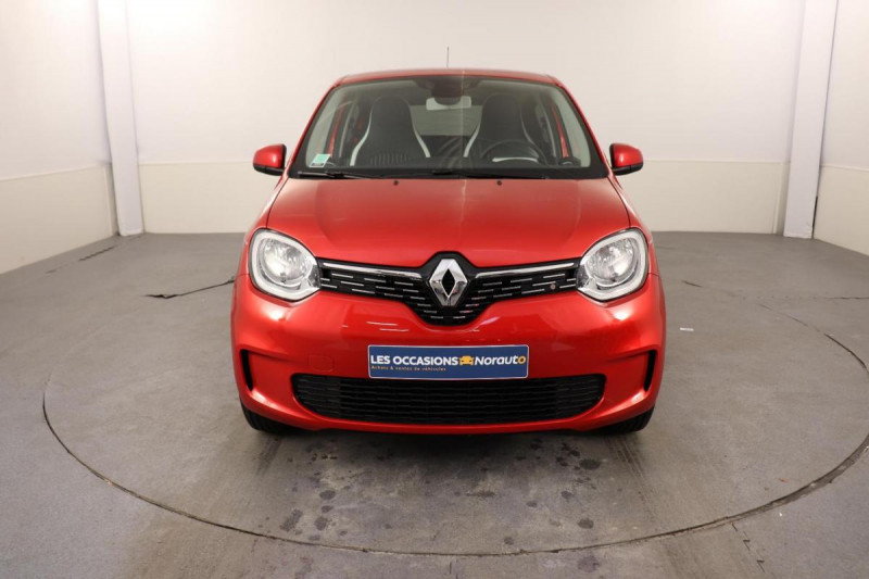 Renault Twingo III TCe 95 EDC Intens Rouge occasion à Toulouse - photo n°2