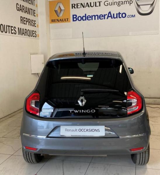 Renault Twingo III TCe 95 Intens Gris occasion à PLOUMAGOAR - photo n°4