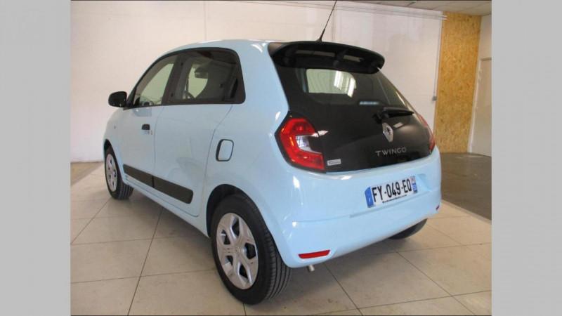 Renault Twingo Life SCe 65 Bleu occasion à CHERBOURG-EN-COTENTIN - photo n°3