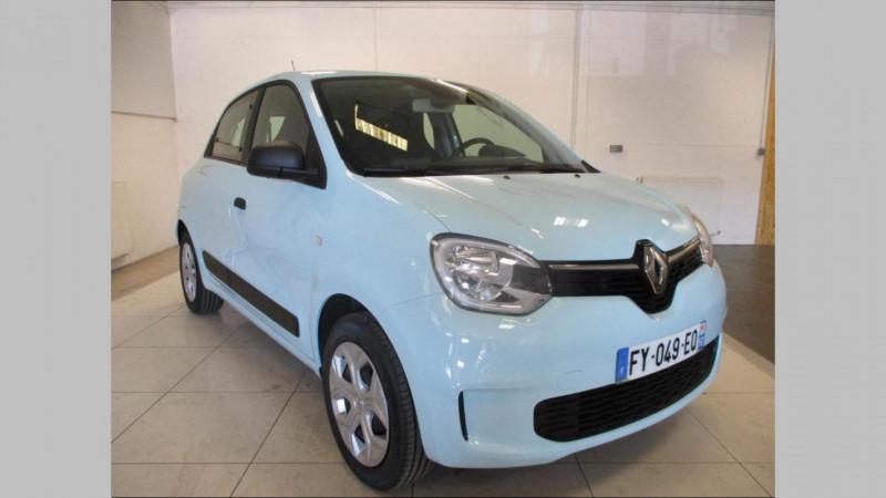 Renault Twingo Life SCe 65 Bleu occasion à CHERBOURG-EN-COTENTIN - photo n°2
