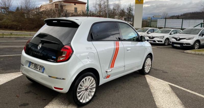 Renault Twingo Z.E. SERIE LIMITEE VIBES Blanc occasion à La Talaudiere - photo n°4