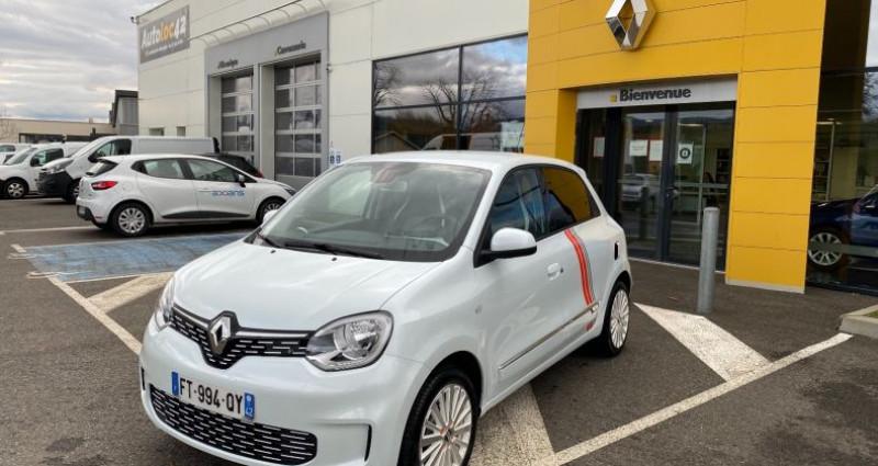 Renault Twingo Z.E. SERIE LIMITEE VIBES Blanc occasion à La Talaudiere - photo n°2