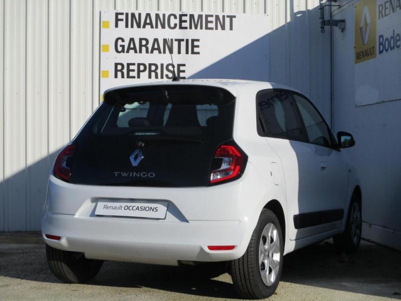 Renault Twingo Zen SCe 75 - 20 Blanc occasion à PAIMPOL - photo n°6