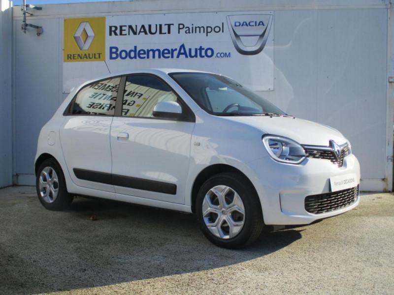Renault Twingo Zen SCe 75 - 20 Blanc occasion à PAIMPOL - photo n°3