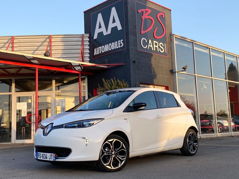 Renault Zoe occasion 2019 mise en vente à Castelmaurou par le garage BS CARS.COM - photo n°1