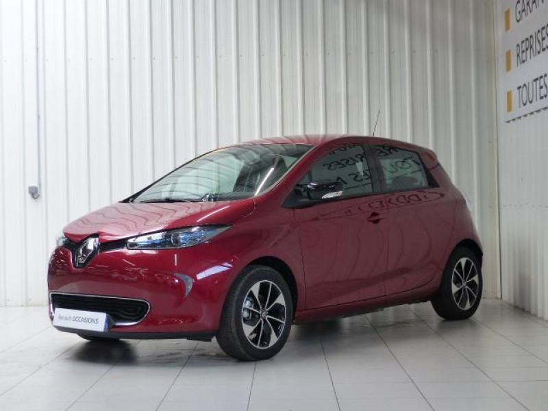 Renault Zoe E-Tech électrique Intens R110 2019 Rouge occasion à MORLAIX