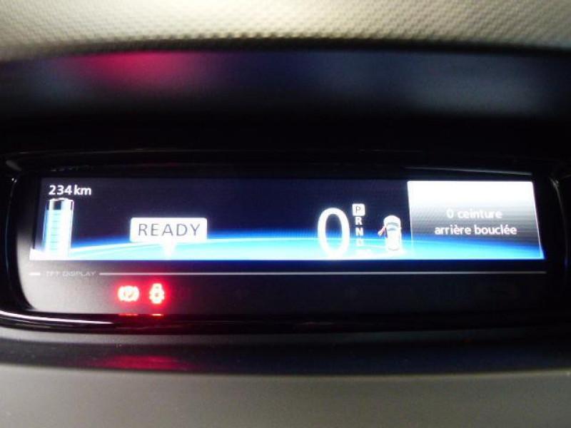 Renault Zoe E-Tech électrique Intens R110 2019 Rouge occasion à MORLAIX - photo n°10