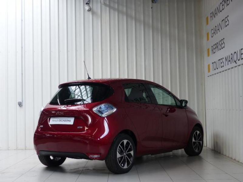 Renault Zoe E-Tech électrique Intens R110 2019 Rouge occasion à MORLAIX - photo n°4