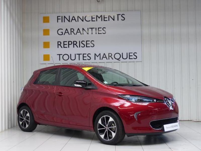Renault Zoe E-Tech électrique Intens R110 2019 Rouge occasion à MORLAIX - photo n°2