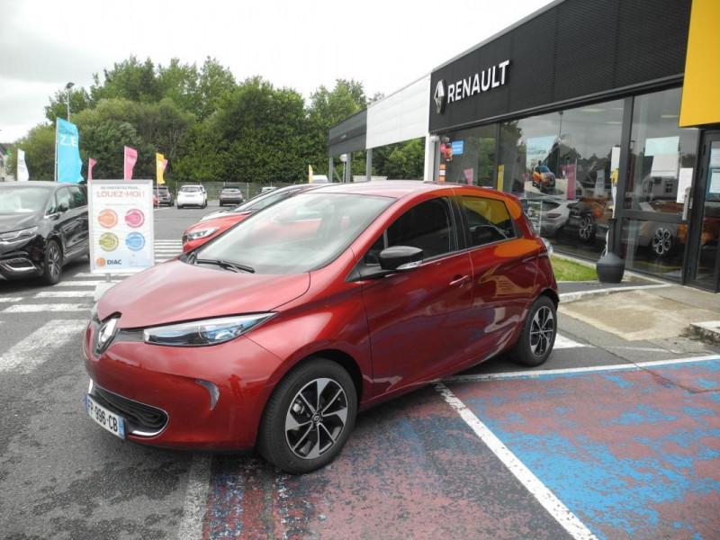 Renault Zoe E-Tech électrique Intens R110 2019 Rouge occasion à AURAY - photo n°2