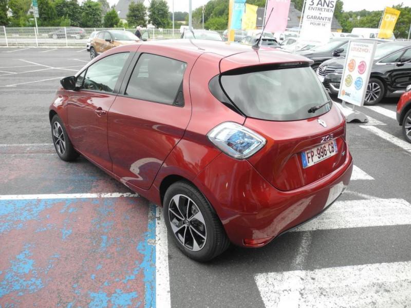 Renault Zoe E-Tech électrique Intens R110 2019 Rouge occasion à AURAY - photo n°3