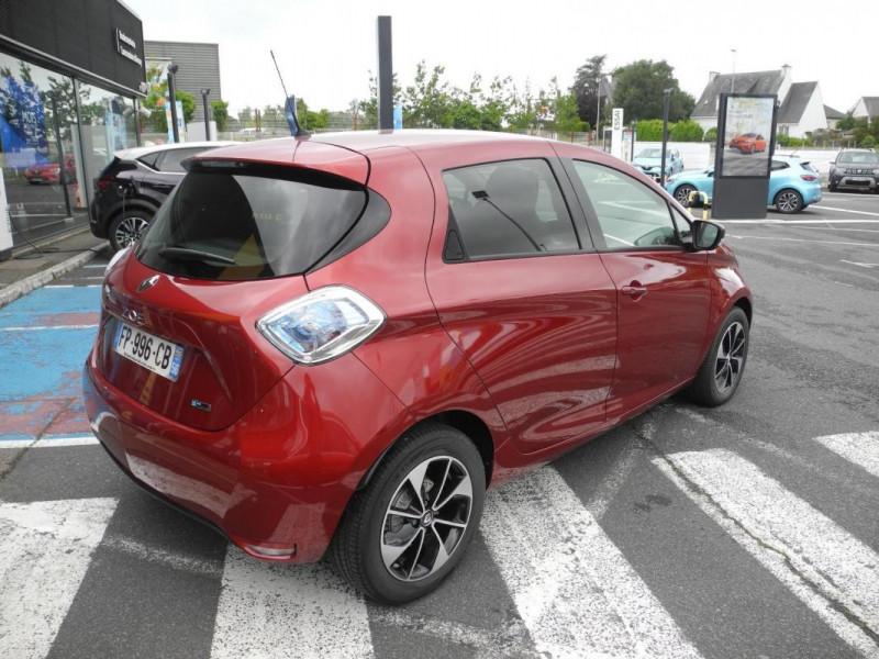 Renault Zoe E-Tech électrique Intens R110 2019 Rouge occasion à AURAY - photo n°4